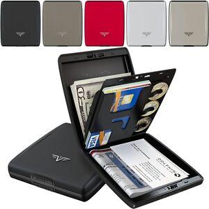 TRU VIRTU Silk Aluminium Geldbörse Wallet Kreditkartenetui EC Karten Alu Etui