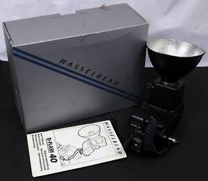 Hasselblad D-Flash 40 Speedlight Unit Complete Kit - Near Mint in Box