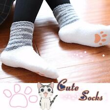 Lovely Girl Chi's Sweet Home Cat Cosplay Winter Warm Ankle-High Microfiber Socks