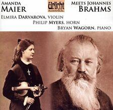 Elmira Darvarova, El - Amanda Maier Meets Johannes Brahms [New CD]