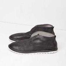 Marsèll Gomma Leather Sancrispa Ankle Boots in Black Size 36