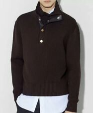 Alfred Dunhill Merino Funnel Neck Jumper Size M