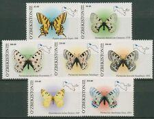 Usbekistan 2006 Schmetterlinge Apollo Segelfalter 628/34 postfrisch