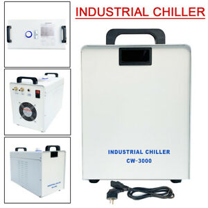 CW-3000 Tragbarer Industrieller Wasserkühler Laser Cooler Water Chiller 50W/℃ DE
