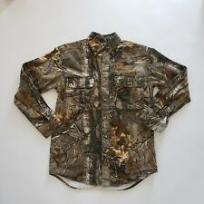 Browning Basic Long Sleeve Camo Shirt Size Small
