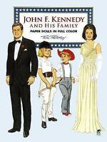 John F. Kennedy and His Family Paper Dolls in Full Color (Famous-ExLibrary