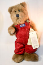 Boyds Bears: Christopher - 12 inch Plush - Red Overalls