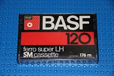 BASF  FERRO SUPER LH  120   BLANK CASSETTE TAPE (1) (NEW)
