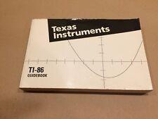 Guidebook - Texas Instruments Ti-86 Graphing Calculator Manual Programming Tools