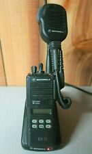 Motorola MTS2000 Model II 800 MHz Radio H01UCF6PW1BN with Charger & Microphone