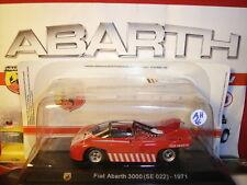 1/43 Abarth Fiat 3000 Sport SE 022 Type 1971 + Brochure Hachette N 16
