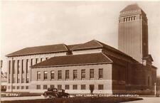 New Library Cambridge University unused RP old pc 1935 Valentines