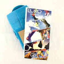 Eurosock Ski Superlite Socks Cushioned Padding Blue Size L
