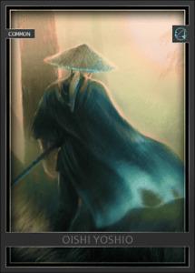 Arata Digital Oishi Yoshio Ronin Samurai - Digital NFT Card - Mint #575 RARE!