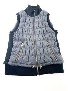 Calvin Klein Vest Women Extra Large Sleeveless Full Zip Puffer Casual Ladies