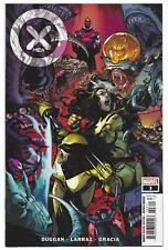 X-Men #3 2021 Unread 1st Print Pepe Larraz Main Cover Marvel Comic Gerry Duggan