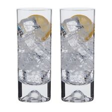 Dartington Crystal Dimple Double Old Fashioned Pair