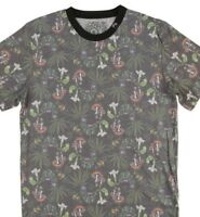 Men's T-Shirt - 4-20-Weed, Mushroom, Psychedelic- LRG - ALOHIGH - Faded Design