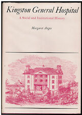 VG+ History of Kingston Ontario Canada General Hospital Medical Medicine Doctors
