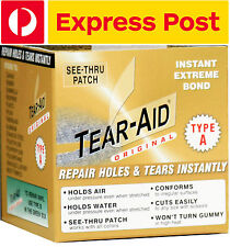 Tear Aid Type A 5ft Repair Roll, Patch, Canvas, Fabric, Nylon, Sale, Tent, Pack