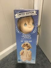 """Precious Moments Doll Kit 18"""" Limited 1st Edition: Cindy 1985 New"""