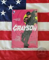 NEW SEALED Grayson Agents of Spyral Vol 1 The DC Comics Hardback Hardcover