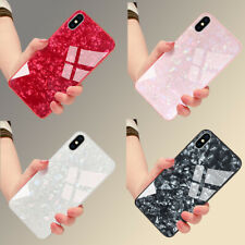 Luxury Marble Tempered Glass Case Cover For Apple iPhone X XR XS Max 8 7 6S Plus