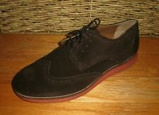 VITO ROSSI 00586211 MEN'S BROWN SUEDE WINGTIP OXFORDS SIZE 13 DESIGNED IN ITALY