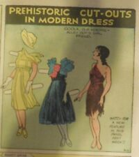 Alley Oop Sunday by VT Hamlin from 9/12/1937 Tabloid Size Page Rare! Paper Doll