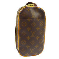 LOUIS VUITTON POCHETTE GANGE CROSS BODY BUM BAG CA0042 MONOGRAM M51870 AK38464k