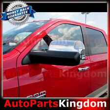 09-16 Dodge Ram HD Triple Chrome Top Half Towing Mirror w/Turn Signal Hole Cover