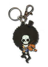 "**License** One Piece PVC Keychain ""Soul King"" SD Brook #4766"