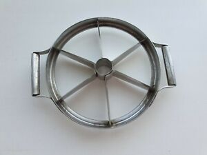 Soviet Vintage Old Apple Slicer Chopper Cutter with a Brand Tag Stainless Steel