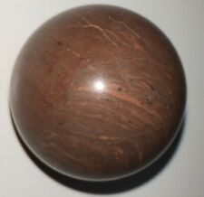 MARS SHOOTER Natural Stone/Agate Mineral Marble Orb Orange Redish Pink Color