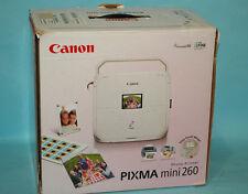 Canon PIXMA Mini260 Digital Photo Inkjet Printer NEW mini 260
