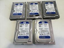 "HDD disco duro 3.5"" WD Blue SATA 500GB pack /lot x5"