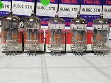 12AX7A RCA SLEEVE OF (5) TUBES NOS NIB 12AX7 TOP QUALITY  (1967)
