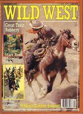 Wild West December 1989 Great Train Robbery VG 053116DBE