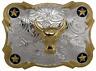 Oversize BIG BULL HEAD Belt Buckle Silver GOLD Western Cowboy Large ov69