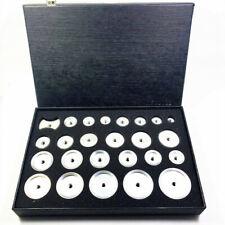 25pcs Watch Back Case Press Dies Aluminum Watch Repair Tool