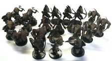 D&D Pre-painted plastic miniatures Gnoll warband: 22 miniatures + cards