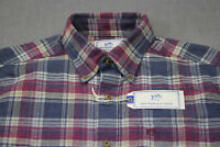 SOUTHERN TIDE Mens Purple & Blue Plaid SKIPJACK LOGO LS Button Shirt NWT L $100