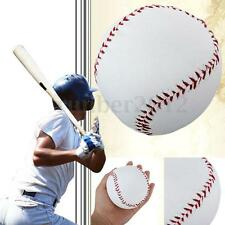 "2.75"" White Base Ball Baseball Practice Trainning Softball Sport Team Game PVC"