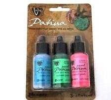 Vintaj Patina Ink Set - 3 Colors -Abalon Pearl