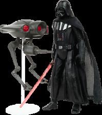 Star Wars Mission Series: Star Destroyer Darth Vader Et Seeker Droid figures
