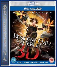 RESIDENT EVIL 4 - Afterlife 3D *BRAND NEW BLU-RAY*