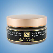 Purifying Facial Mud Mask for Sensitive & Acne Skin Dead Sea Minerals