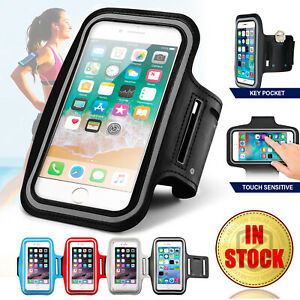 Sports Running Jogging Gym Exercise Armband Case Phone Holder Bag Cover