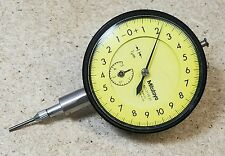 Mitutoyo No 2119 51 001mm To 5 Mm Dial Indicator Metric