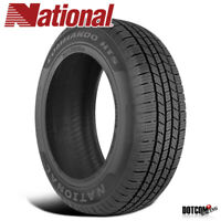 1 X New National Commando HTS 255/50R20 109V XL Tires